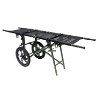Stretcher Wheel Cart / Wheeled Litter Carrier