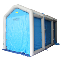 Pneumatic Shower Shelters