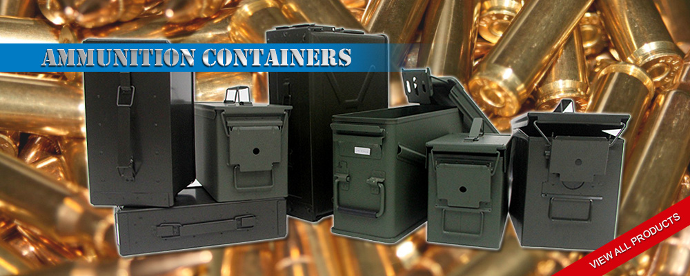 Ammunition Containers - Golden Season