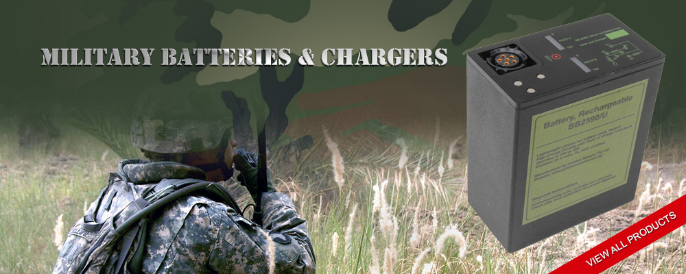 Military Batteries & Chargers - Golden Season