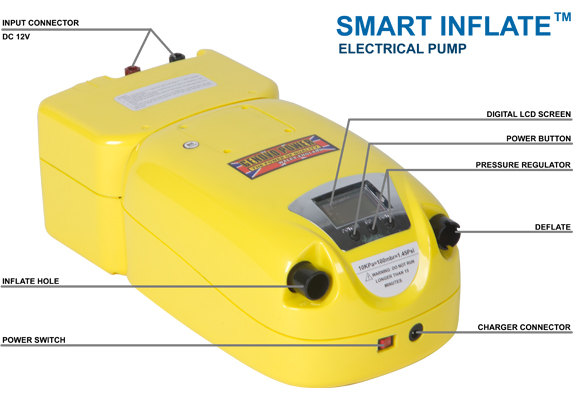 Smart-Inflate™ Electrical Pump