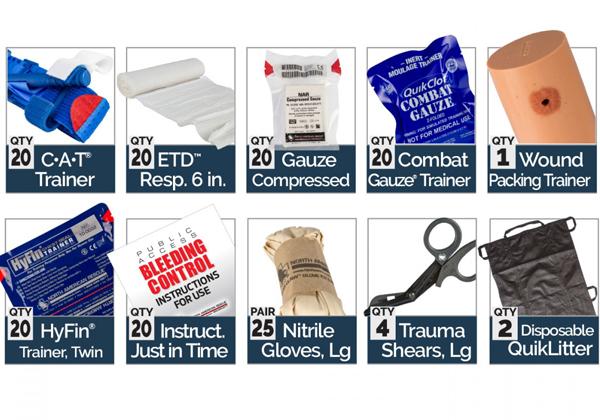 Golden Season Bleeding Control Skills Training Kit
